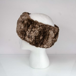 Natural Brown Sheared Beaver Headband