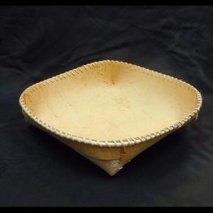 Large Round Birchbark Bowl
