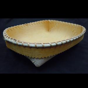 Small Oval Birchbark Bowl