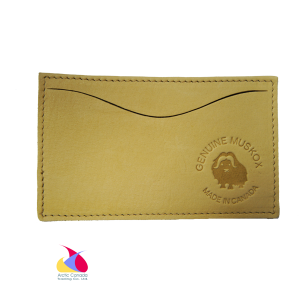 Muskox Leather Card Holder