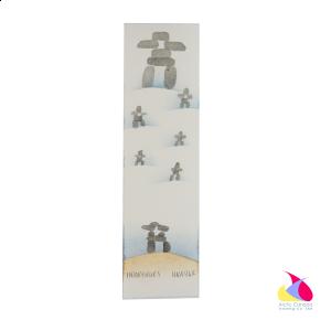 """""""Inuksuks"""" Inuit Print Bookmark"""