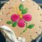 Pink Porcupine Quilled Birch Basket