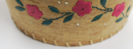 Buy birch bark canoes, baskets and crafts