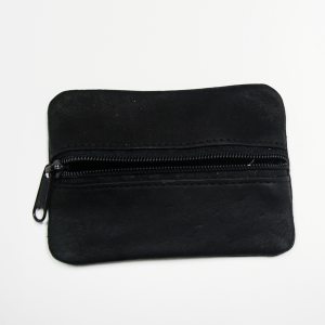 Muskox Leather Coin Pouch