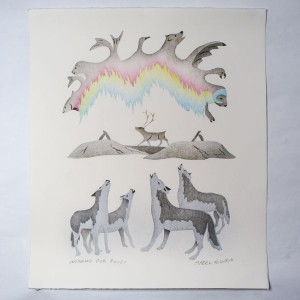 """Wishing For Food"" Inuit Print"