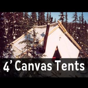 10oz Canvas Wall Tents (4 foot walls)