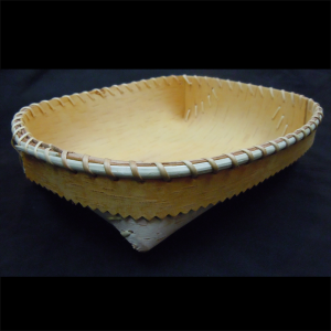 Small Oval Birchbark Bowl