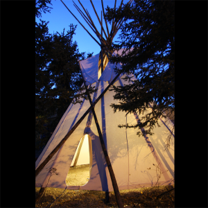 Traditional Northern Canvas Tipis
