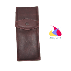 Muskox Leather Glasses or Pen Case