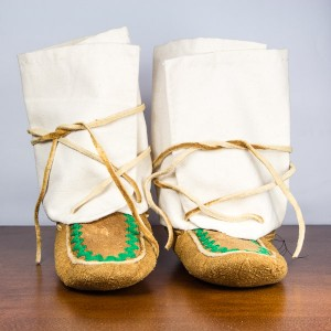 Children's Size 13 Wrap Around Moccasins